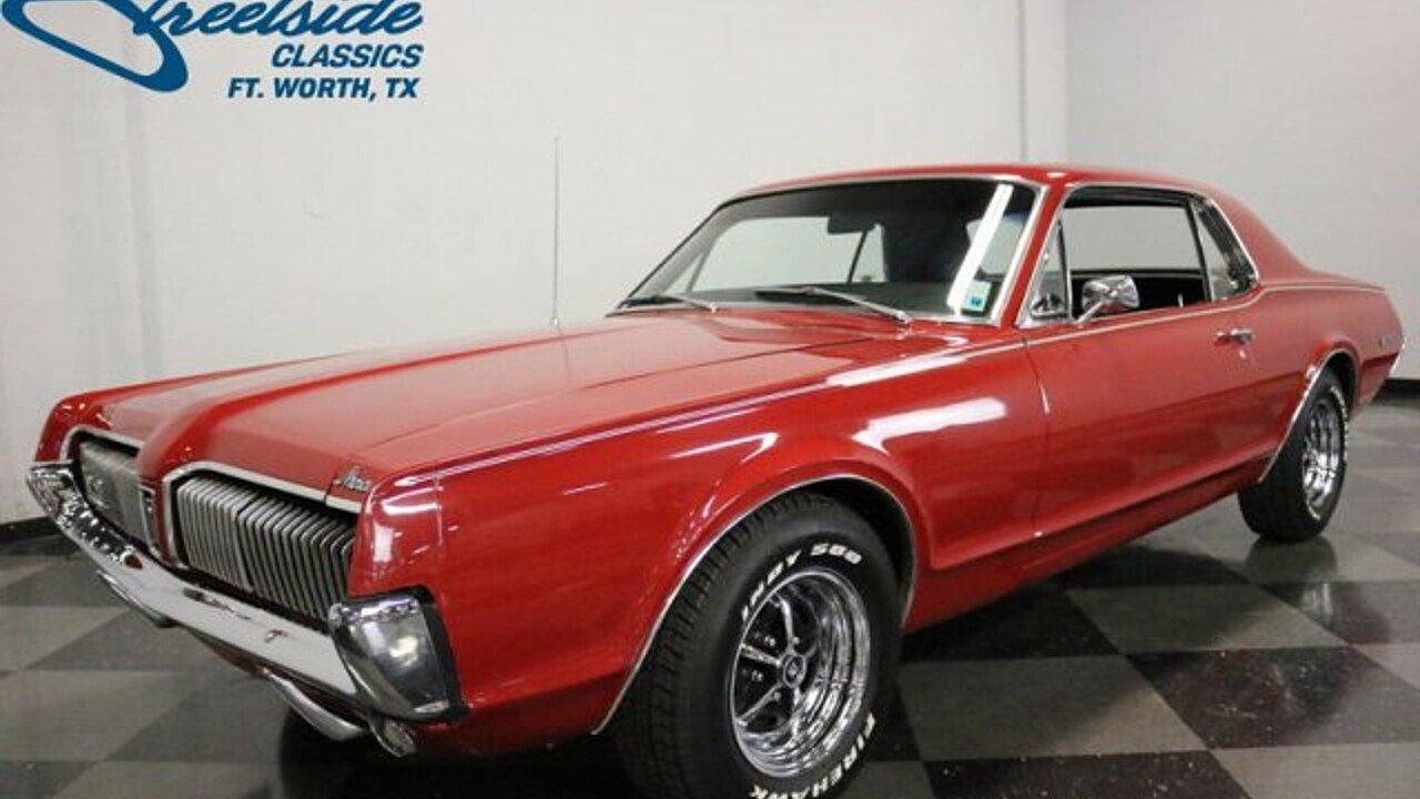 1967 Mercury Cougar for sale near Fort Worth, Texas 76137 - Classics ...