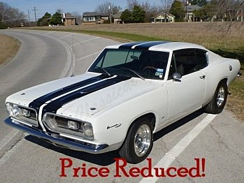 1967 Plymouth Barracuda for sale 100930077
