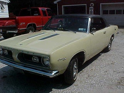 1967 Plymouth Barracuda for sale 100828572