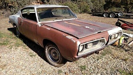 1967 Plymouth Barracuda for sale 100901160