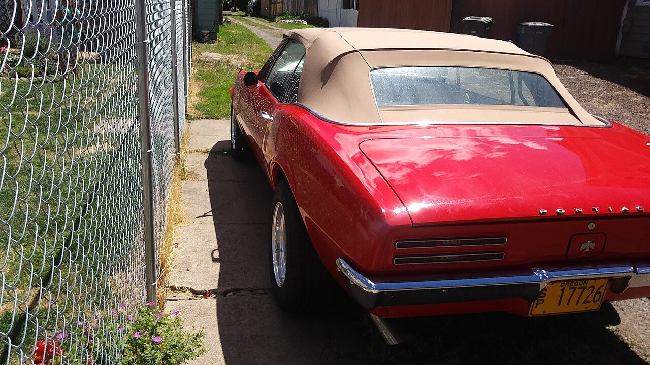 1967 Pontiac Firebird Convertible for sale 101009156