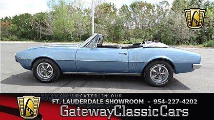 1967 Pontiac Firebird for sale 100975230