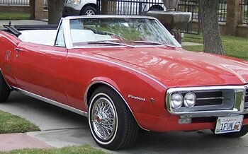 1967 Pontiac Firebird Convertible for sale 101055780