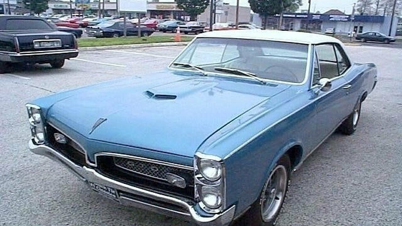 1967 Pontiac GTO for sale 100780495