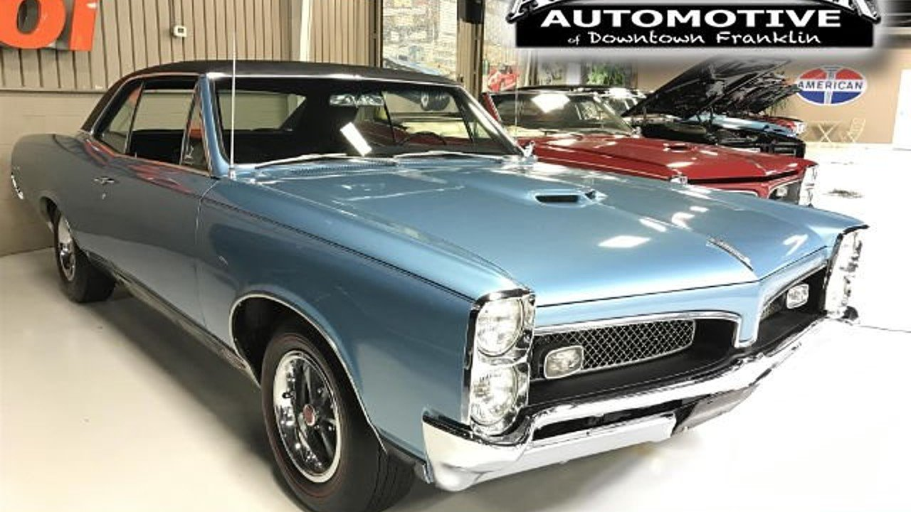 1967 Pontiac GTO for sale near Franklin, Tennessee 37064 - Classics ...