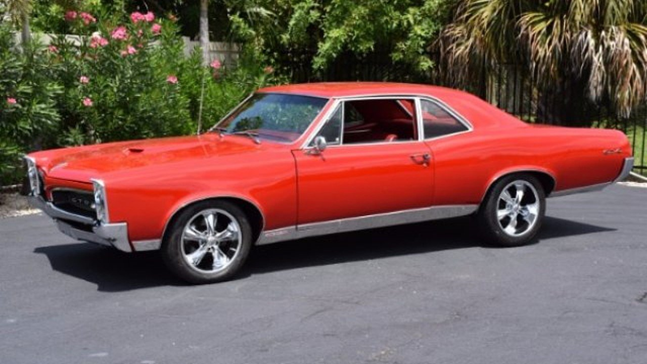 1967 Pontiac GTO for sale 100943187