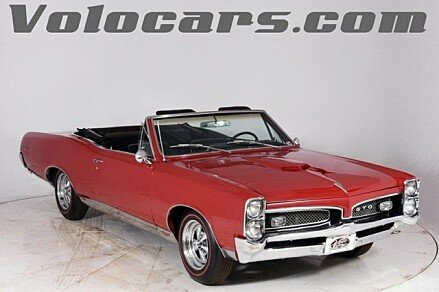 1967 Pontiac GTO for sale 100926224