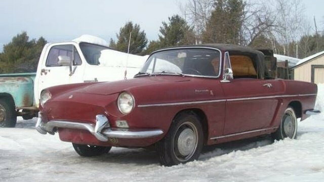 1967 renault caravelle for sale near cadillac michigan 49601 classics on autotrader. Black Bedroom Furniture Sets. Home Design Ideas