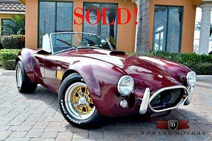 1967 Shelby Cobra-Replica for sale 100735058