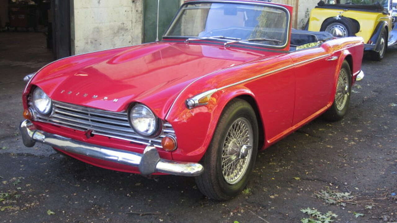 1967 Triumph TR4A for sale 100805872