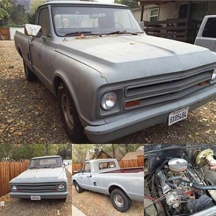 1967 chevrolet C/K Truck for sale 100828574