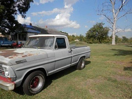 1967 ford F100 for sale 100828537