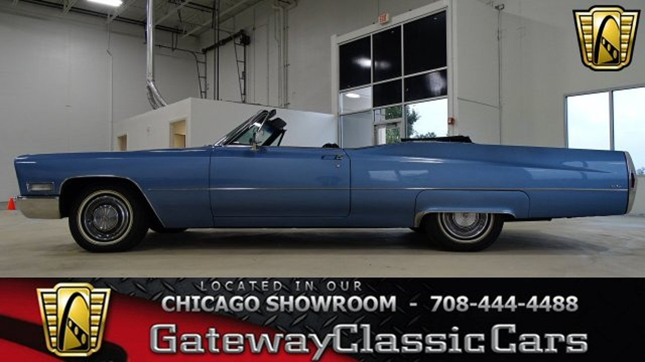 1968 Cadillac De Ville for sale 100919882