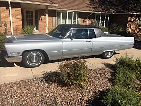 1968 Cadillac De Ville Coupe for sale 101042714