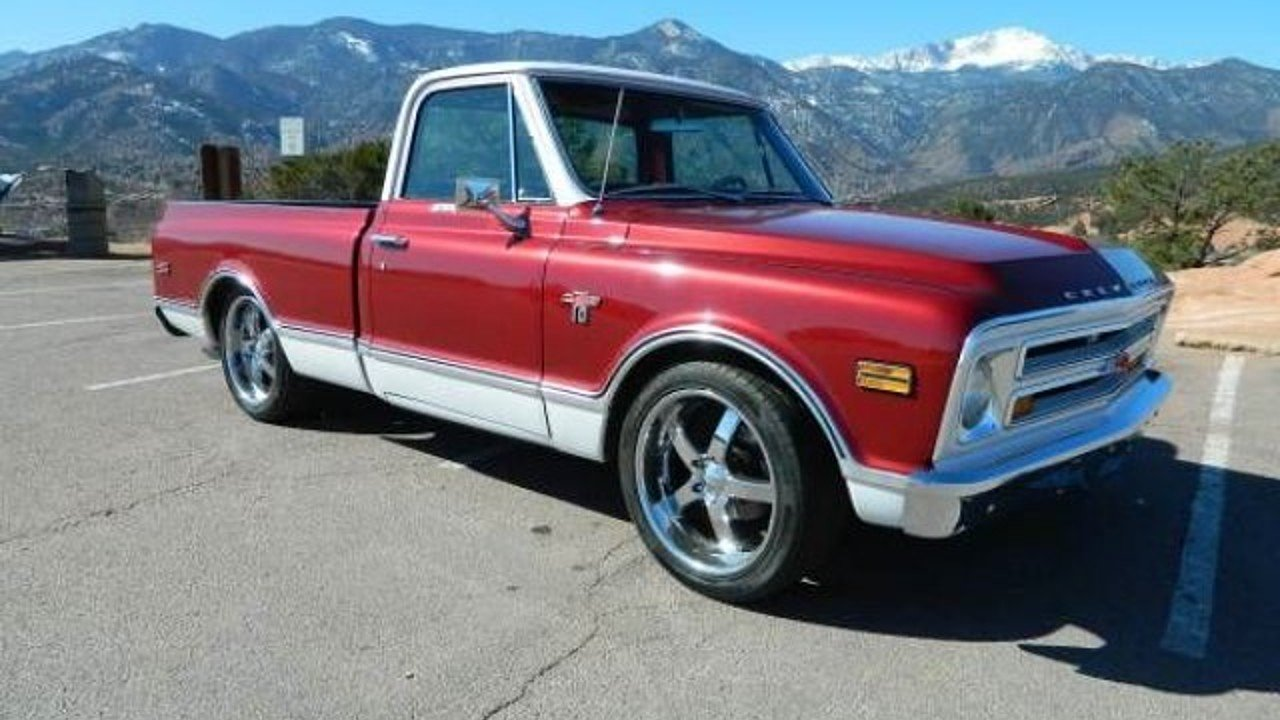 1968 Chevrolet C K Truck Classics For Sale On Autotrader 1966 Chevy Cheyenne Super 4x4 100874354