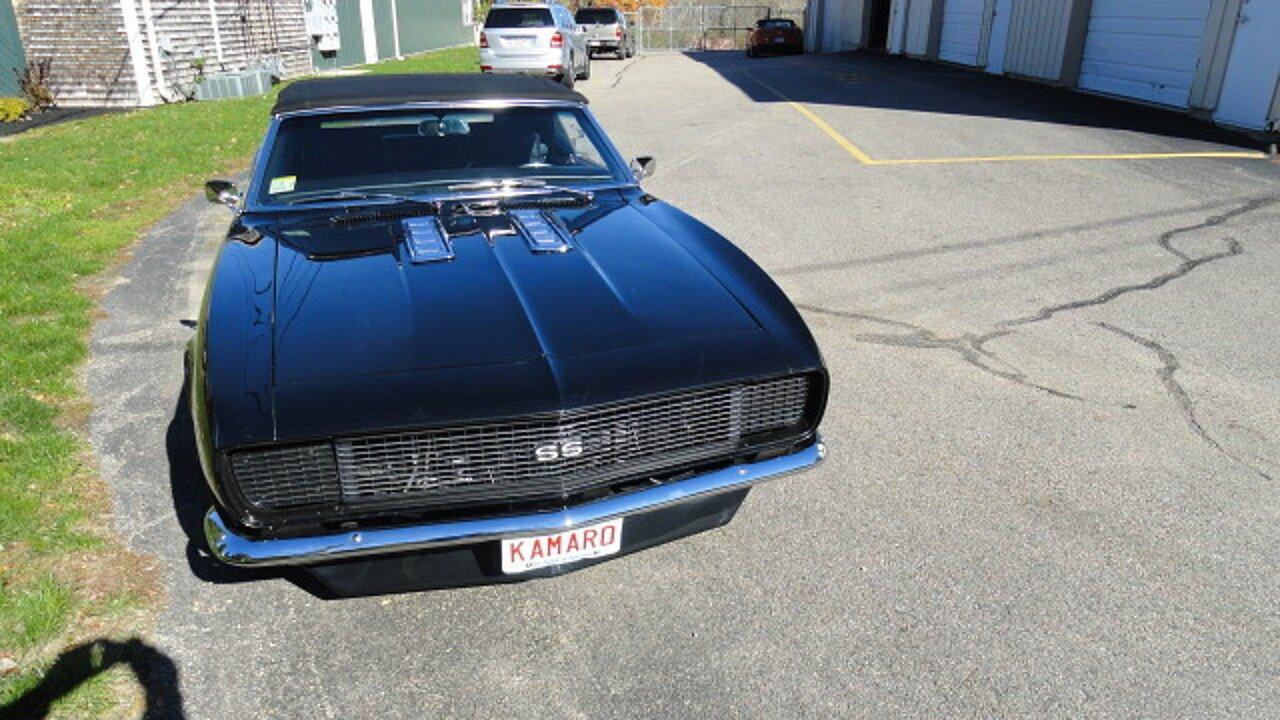 1968 Chevrolet Camaro for sale near Marshfield, Massachusetts 02050 ...
