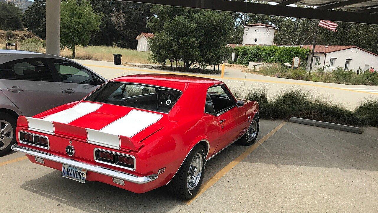 1968 Chevrolet Camaro Rs For Sale Near Sylmar California 91311 Chevy Ss 100884010