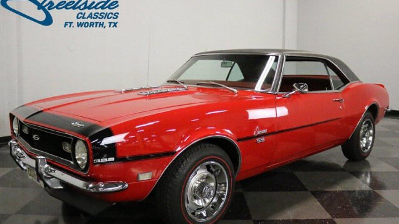 1968 Chevrolet Camaro for sale near Fort Worth, Texas 76137 ...