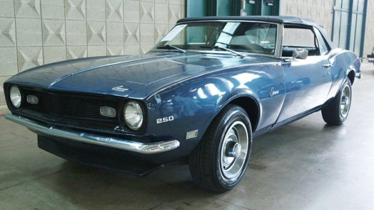 1968 Chevrolet Camaro for sale near Dallas, Texas 75207 - Classics ...