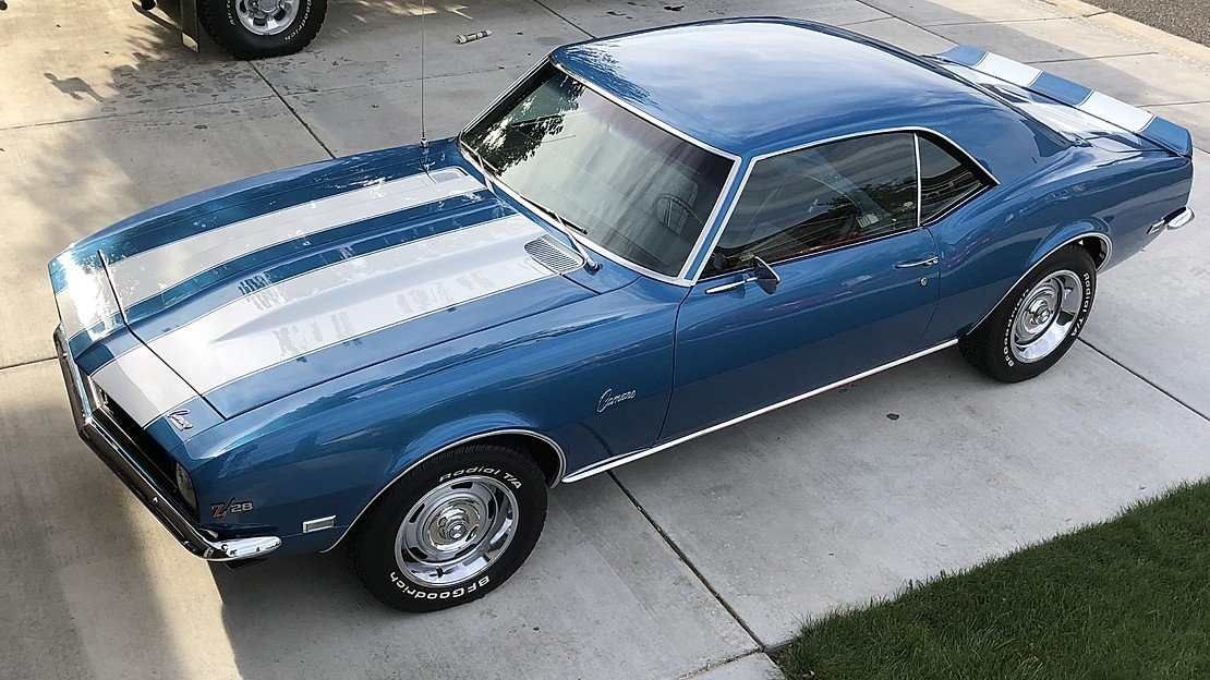 1968 Chevrolet Camaro Z28 for sale 101025317