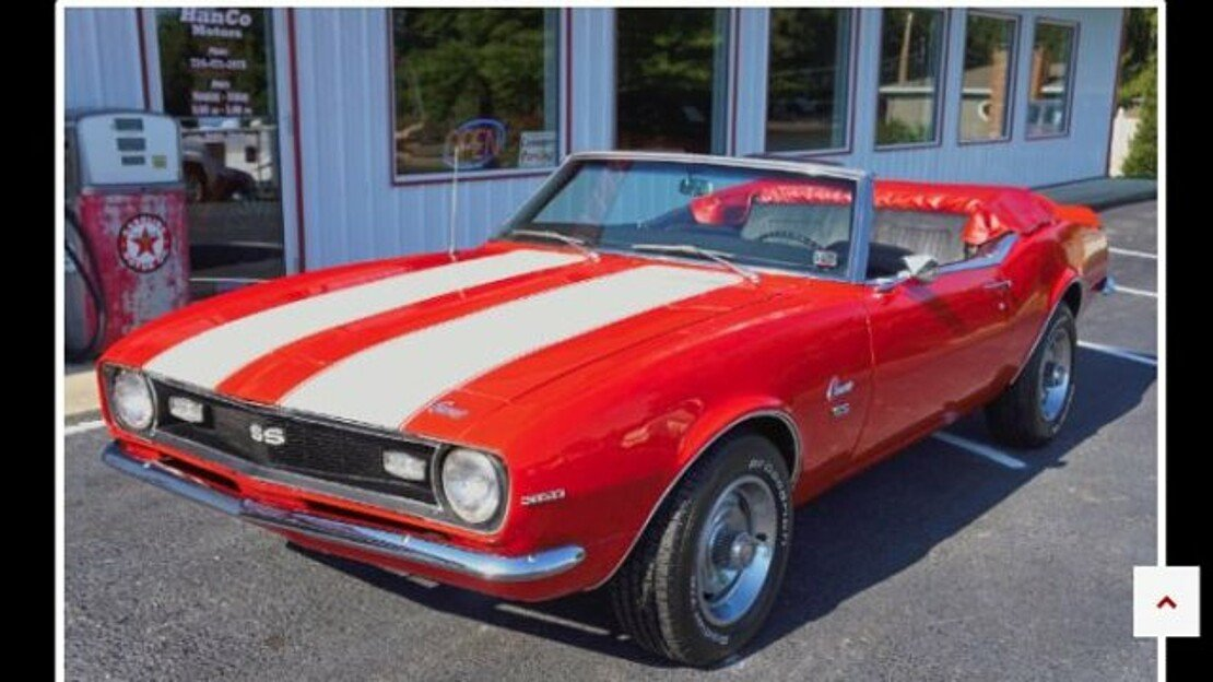 1968 Chevrolet Camaro for sale 101039633