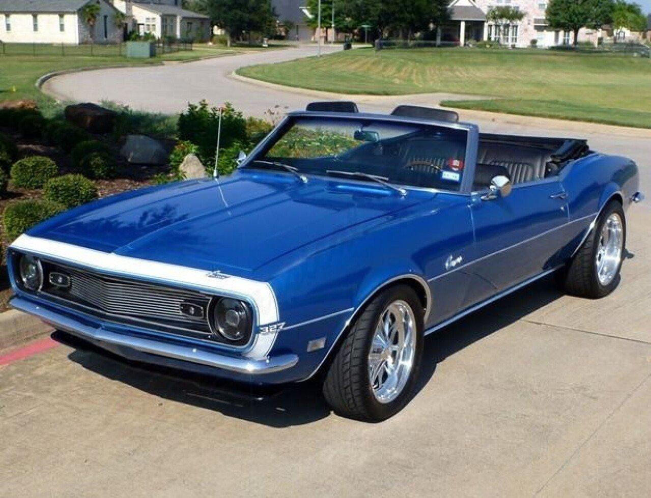 1968 Chevrolet Camaro For Sale Near Arlington Texas 76001
