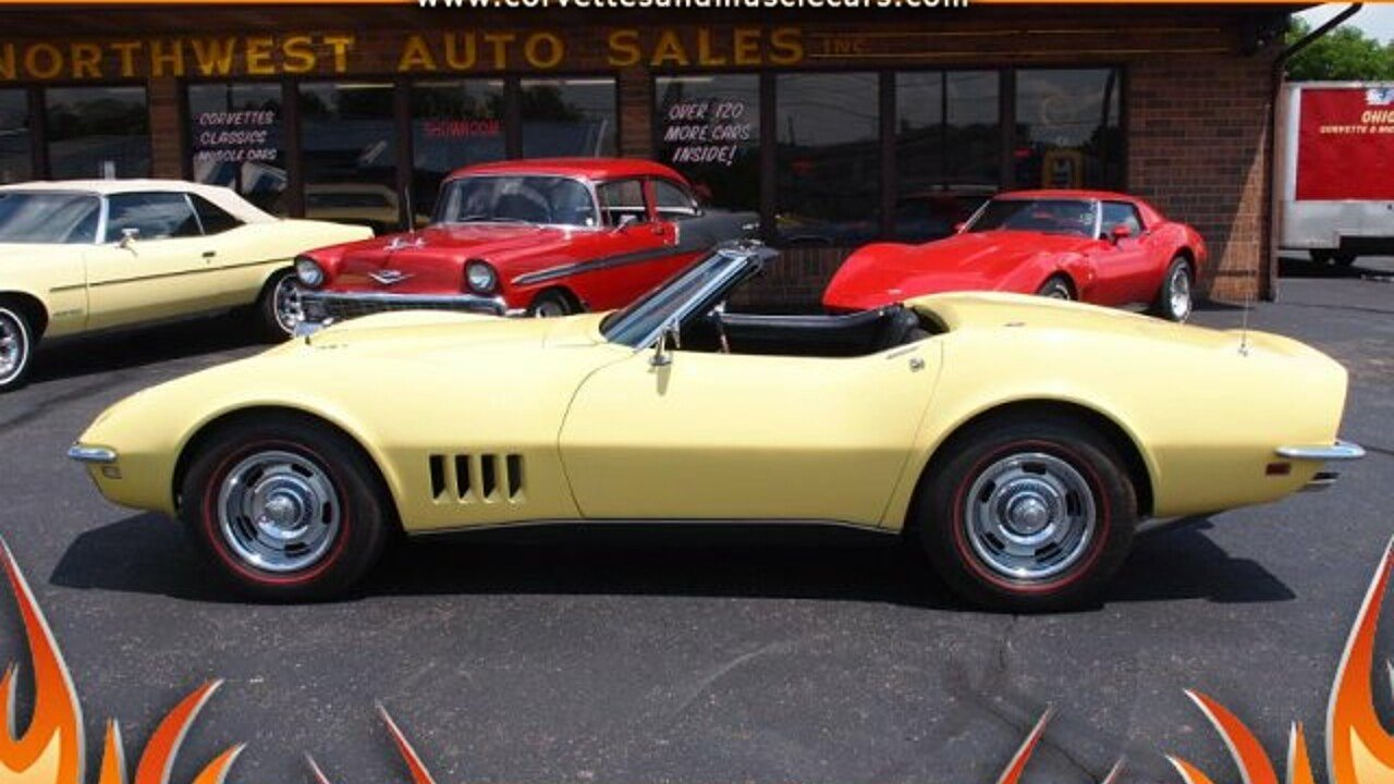 1968 Chevrolet Corvette for sale 100880050