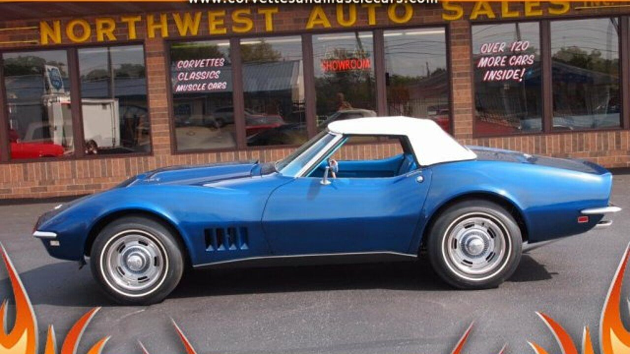 1968 Chevrolet Corvette for sale 100910254