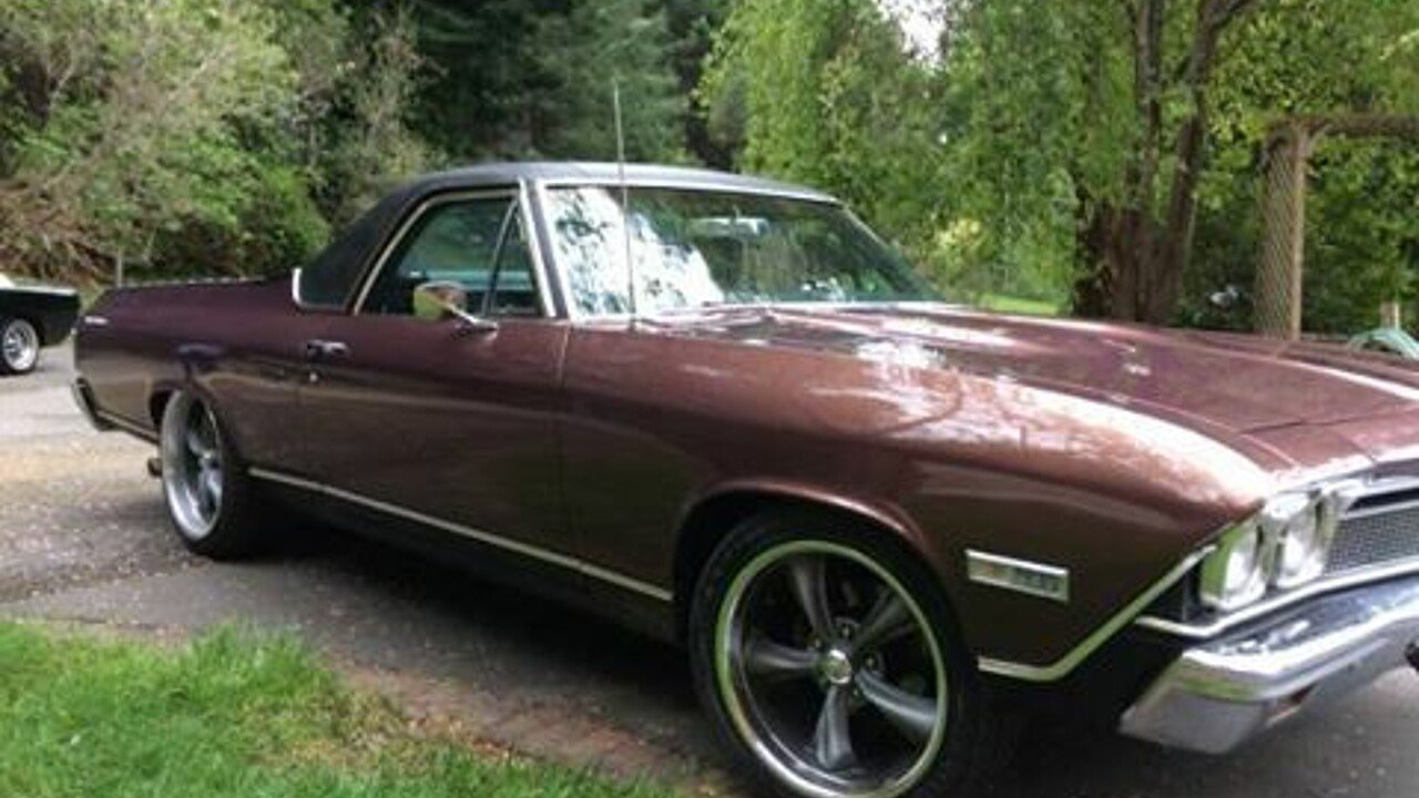 1968 Chevrolet El Camino for sale 100876939