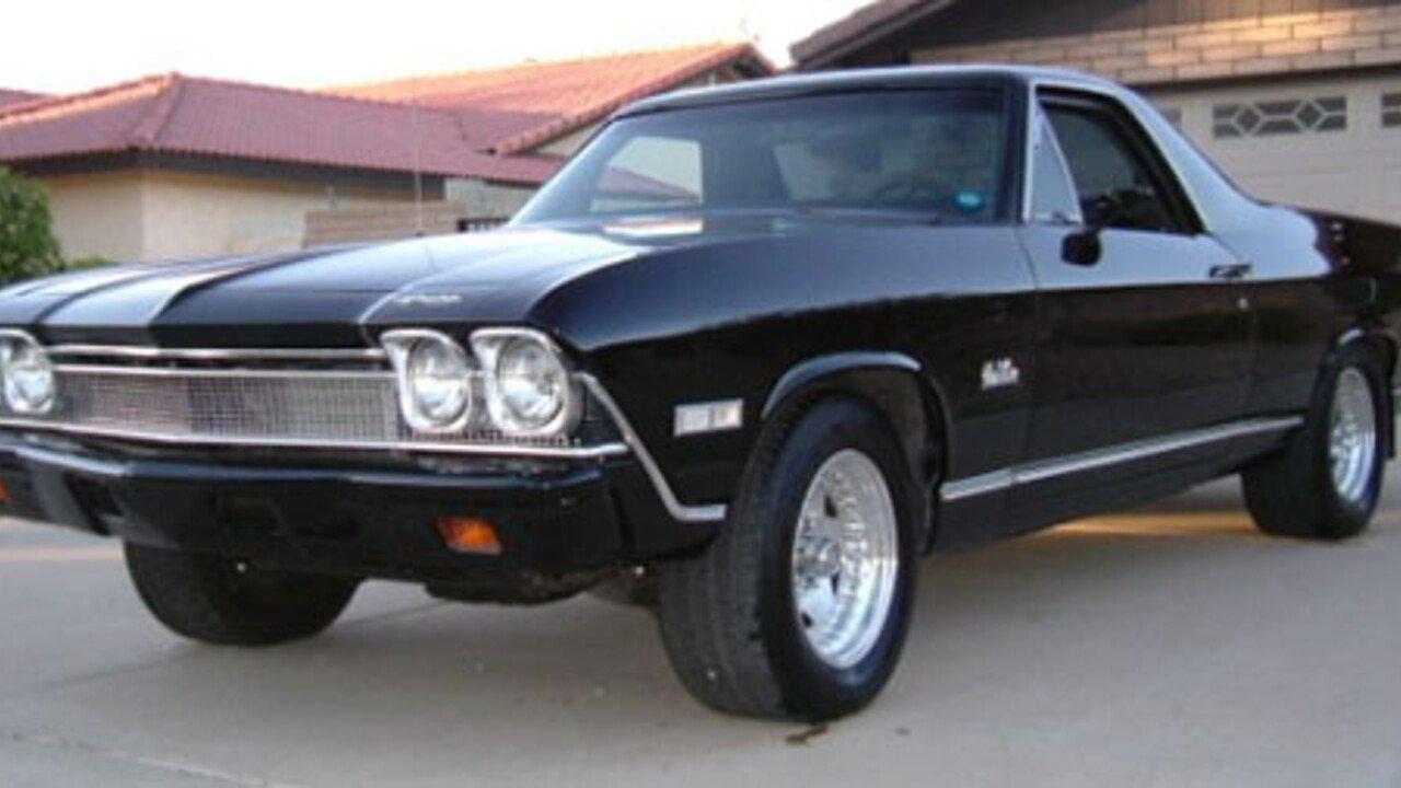 1968 Chevrolet El Camino V8 for sale near Scottsdale, Arizona 85266 ...