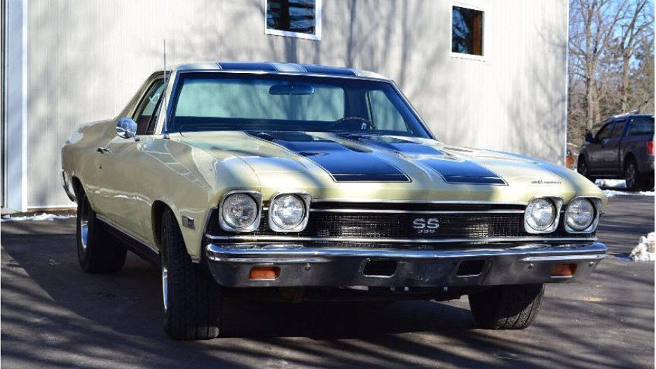 1968 chevrolet el camino ss for sale near kenmore new york 14217 classics on autotrader. Black Bedroom Furniture Sets. Home Design Ideas