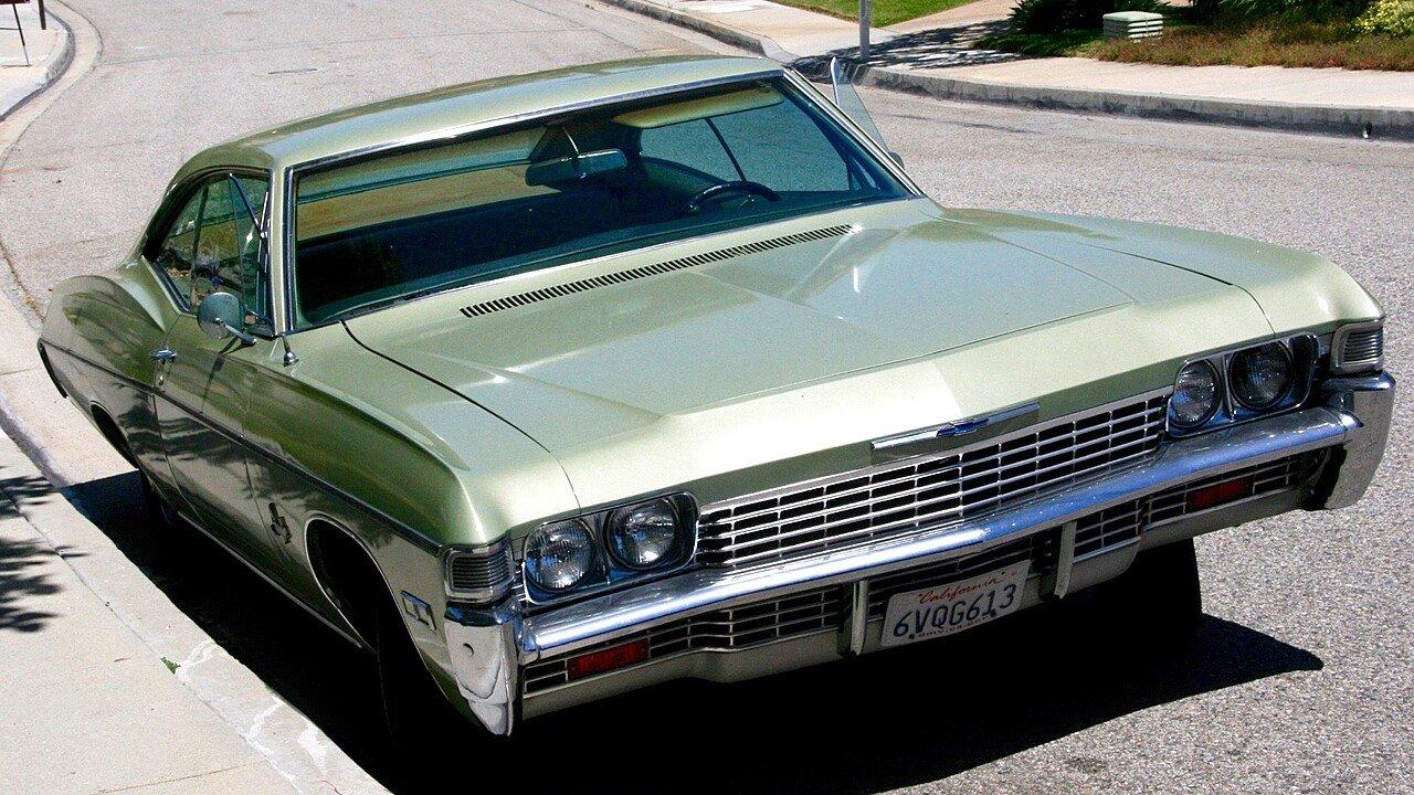Impala 1968 chevy impala parts : 1968 Chevrolet Impala for sale near Malibu, California 90265 ...
