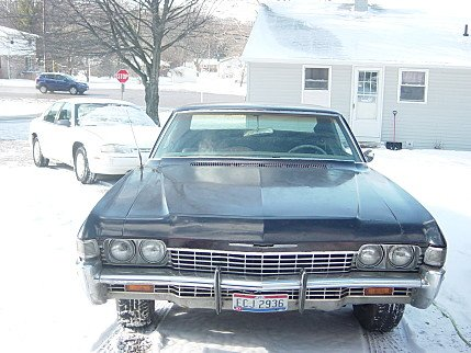 1968 Chevrolet Impala Coupe for sale 100943564