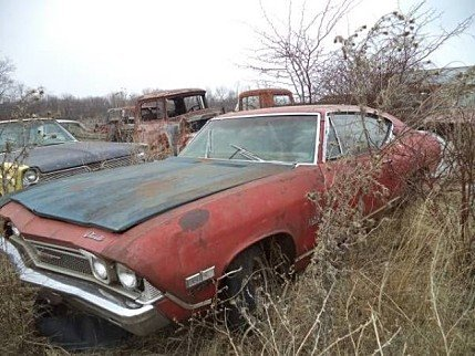 1968 Chevrolet Malibu for sale 100828438