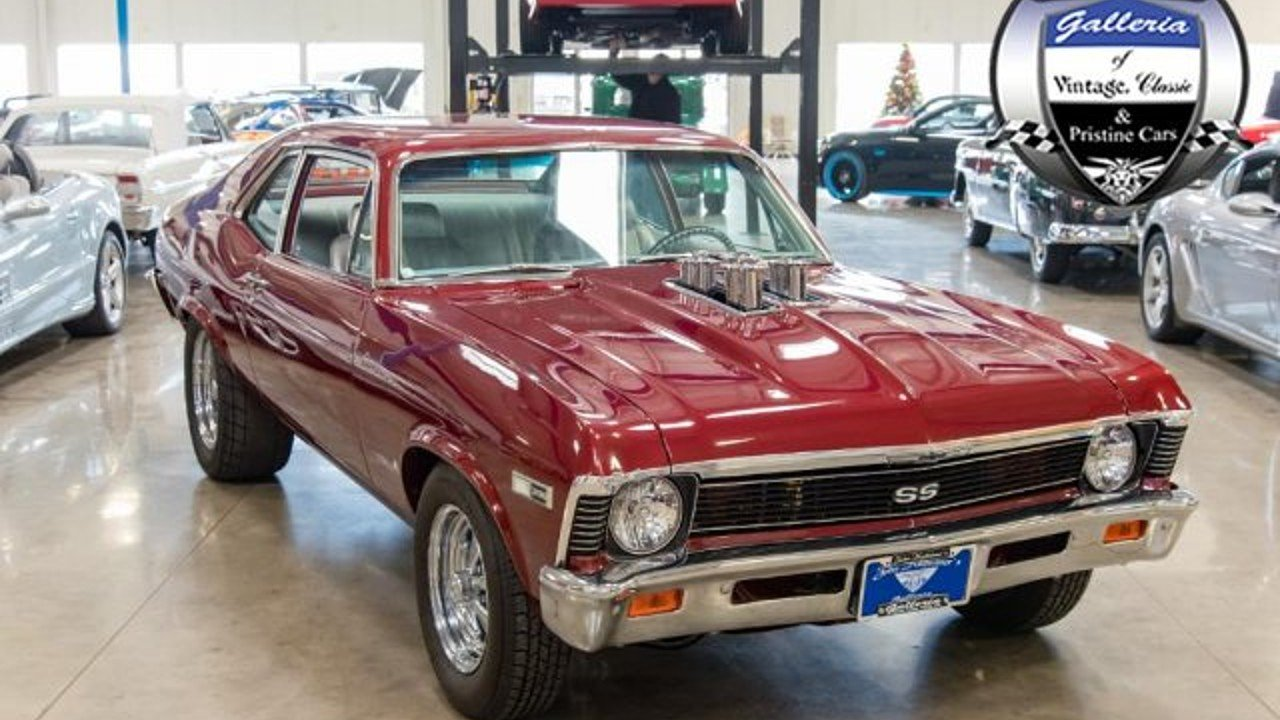1968 Chevrolet Nova for sale near Salem, Ohio 44460 - Classics on ...