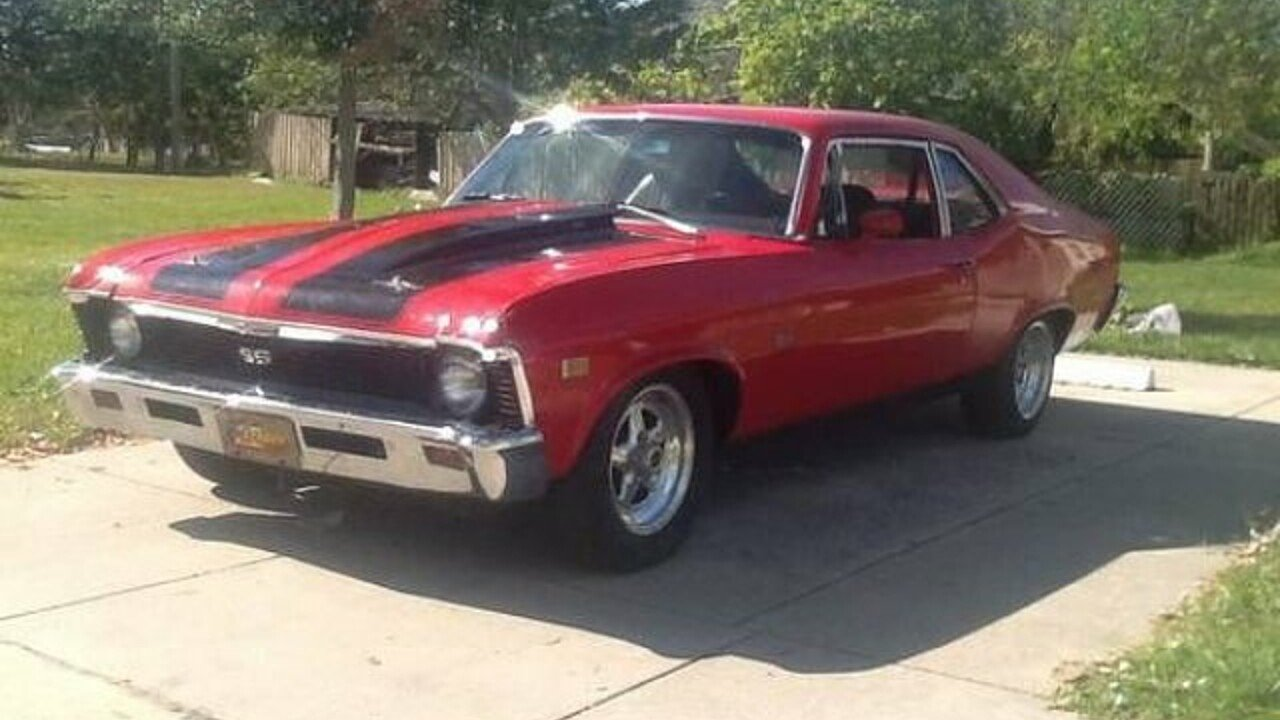 1968 Chevrolet Nova for sale 100892879