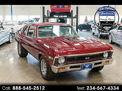 1968 Chevrolet Nova for sale 100877683
