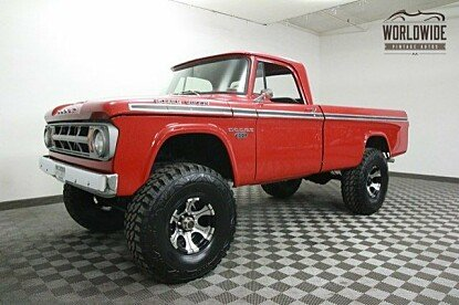 1968 Dodge Power Wagon for sale 100769868