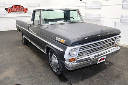 1968 Ford F100 for sale 100842735