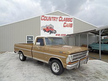 1968 Ford F100 for sale 100927355
