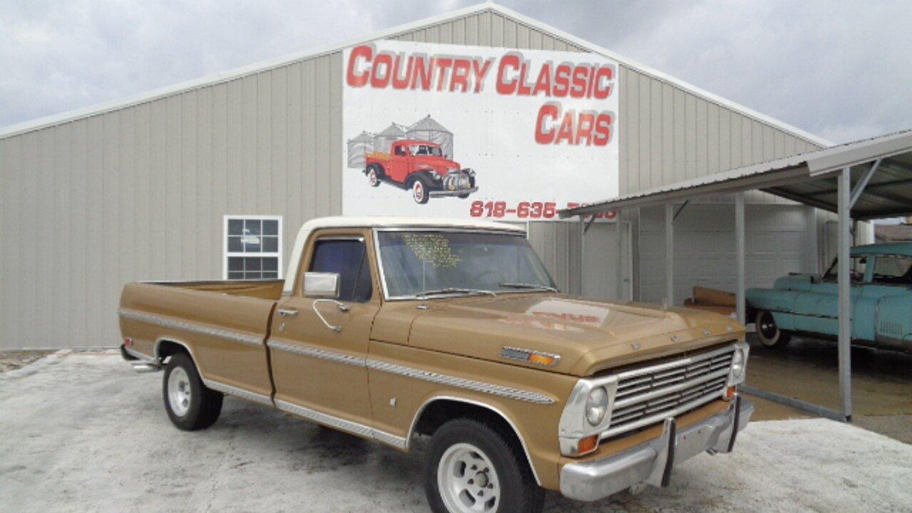 1968 Ford F100 for sale near Staunton, Illinois 62088 - Classics on ...