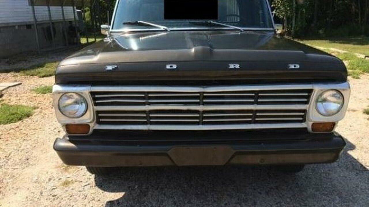 1968 Ford F100 For Sale Near Cadillac Michigan 49601 Classics On 1955 Heater 100828702