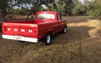 1968 Ford F100 2WD Regular Cab for sale 100959854
