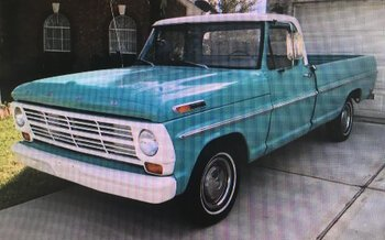 1968 Ford F100 2WD Regular Cab for sale 100969189