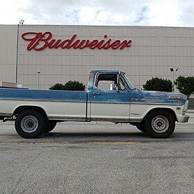 1968 Ford F250 2WD Regular Cab for sale 100838281