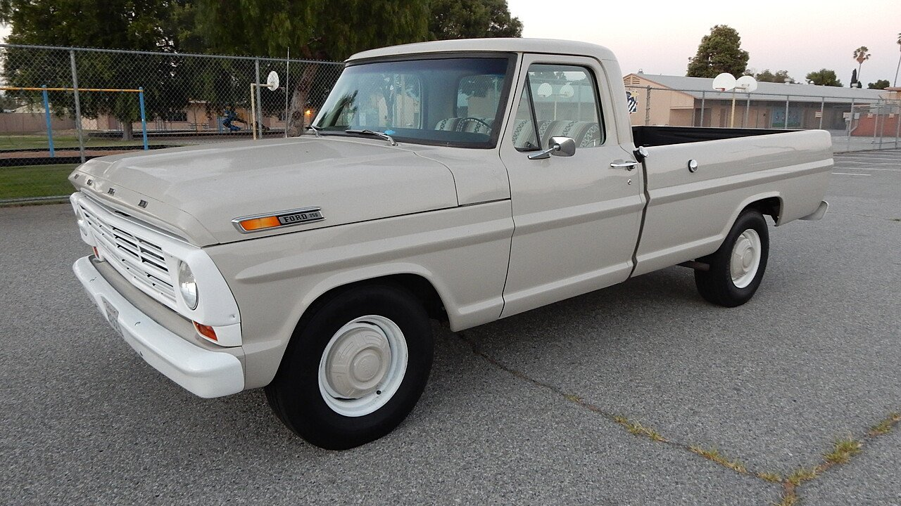 1968 Ford F250 2WD Regular Cab Super Duty for sale 101002546