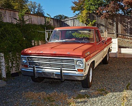 1968 Ford F250 2WD Regular Cab for sale 100979784