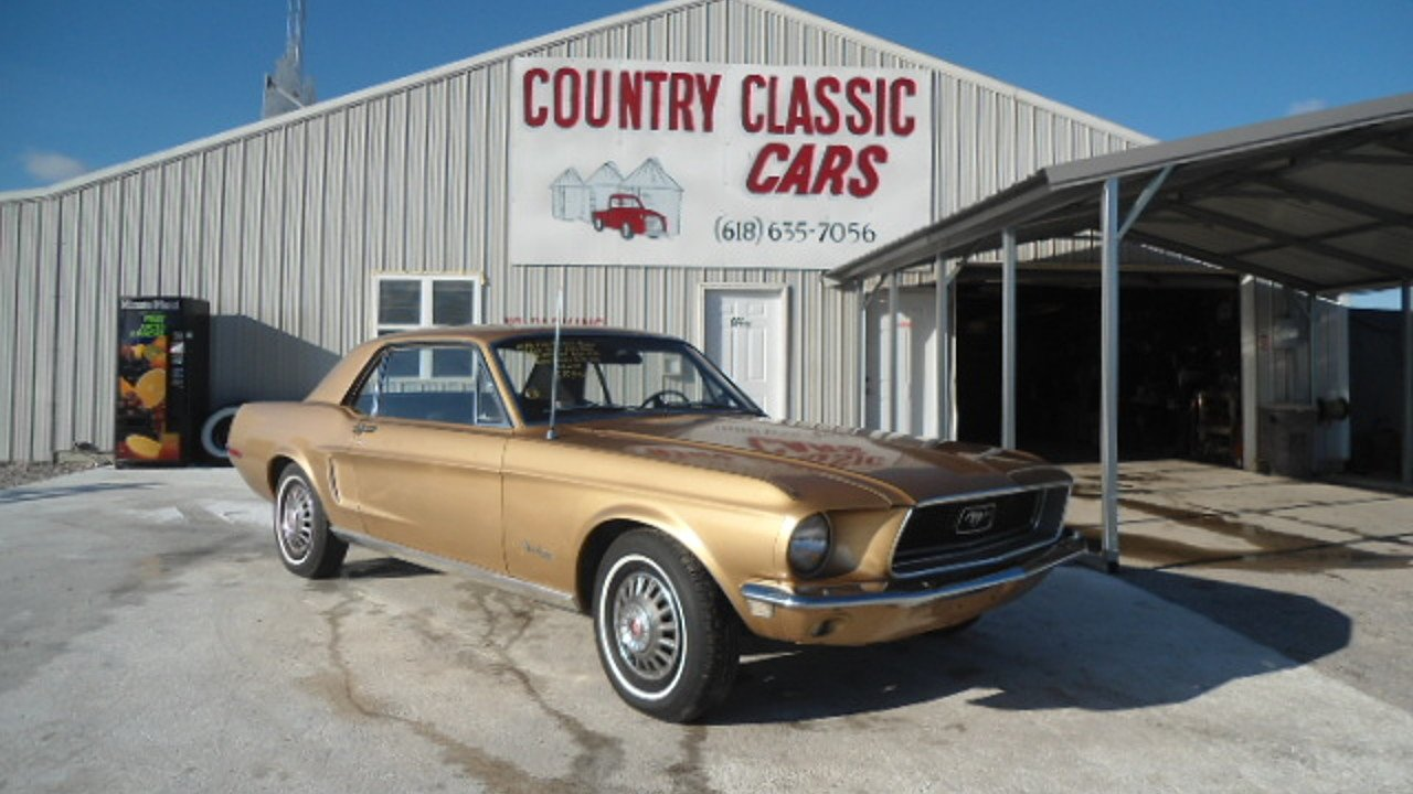 1968 Ford Mustang for sale 100748800