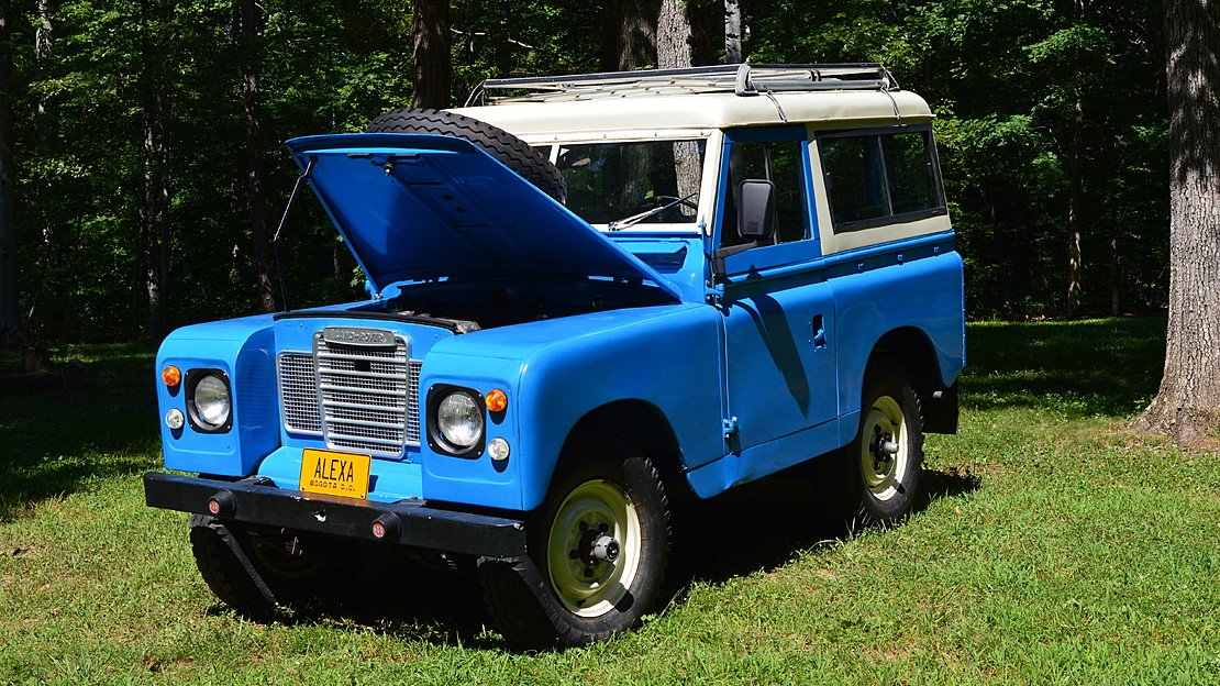 1968 Land Rover Series II for sale 100990751