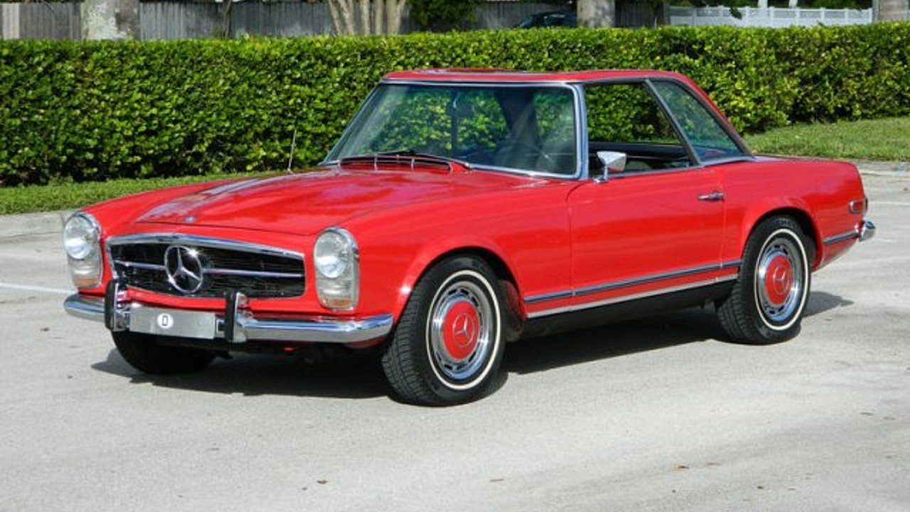 1968 Mercedes-Benz 280SL for sale near Fort Lauderdale, Florida ...